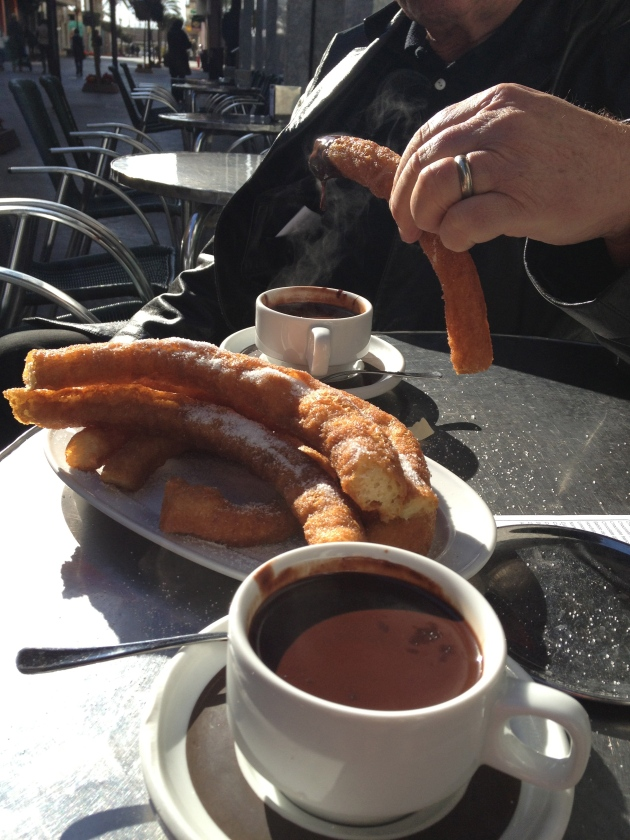 Chocolate & Churros!